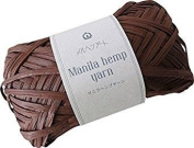 Manila hemp yarn 513 coffee 20 g 50 m
