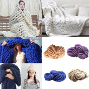 IGEMY Wool Yarn Super Soft Bulky Arm Knitting Wool Roving Crocheting DIY
