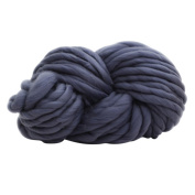 Moresave 250g Natural Wool Roving Hand Spinning Projects Knitting Wool Crocheting DIY