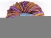 Lana Grossa Lei Print Wool 306 Chestnut/Brown/Purple