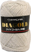 Diamond gold yarn FINE Col.174 cream 50 g 200 m