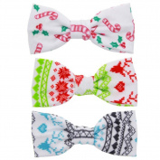 3xToruiwa Hair Clip Cute Handmade Bowknot Hairclip Hairpin Hair Styling Clips Headwear Headdress Hair Accessories for Girls Kids Women Multicolor 10*4.8CM