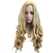 wig woman Gradient colour wave Long curly hair
