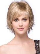 Wig Lady Blond Short Hair Fluffy Personality Coppia Romantico Risparmio Pentola Matrimonio Salvadanaio Ragazza Carino Romantico Piggy Banca