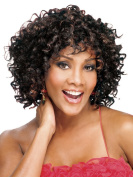 Wig For Ladies Short Hair Curlers Fashionable Fluffy Wig
