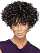 Ladies Wig Short Hair Roll Personality Fashion Wig Wigs
