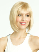 Ms. Golden Wig Hood Short Straight Hair High-end Wig