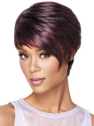 Lady Fake Hair Short Straight Hair Stylish Wig