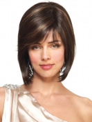 Ladies Wig Short Straight Hair Personality Wig Caps