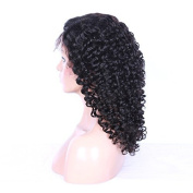 DSY Beauty Wigs 100% Human Virgin Hair Lace Wig Lace Front Natural Kinky Curly Lace Wig glueless with Baby Hair