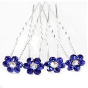 Sanwood® 20pcs Wedding Bridal Pearl Flower Rhinestone Crystal Hair Pins Clips Grips