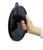 Coiffeur Cabinet Mirror Black