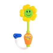 Sunflower Baby Bath Shower Toy Spray Bathing Tub Fountain Toy for Kid Hand Shower Bath