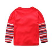 """I Love You "" Letter Print Blouse Vovotrade Toddler Unisex Round Neck Long Sleeve Sweatshirt Kids Fashion Top T Shirt"