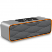 Bluetooth Speakers,XPLUS Portable Travel Wireless Stereo Strong Enhanced Bass Bluetooth Speaker FM Radio MP3 Player,10 Play Hour 2200mAh Battery, Hands-Free Calling Built-In Microphone, Micro TF SD Ca