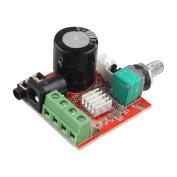 HALJIA 12V Mini PAM8610 2*10W Digital HiFi Audio Stereo Amplifier Board Two Channel D Class Module