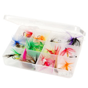 Outdoors Assorted Dry Fly Fishing Flies - 25pc by Wakeman