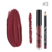 ZycShang Kiss Beauty Liquid Lipstick Moisturiser Velvet Lipstick Cosmetic Beauty Makeup