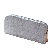 WRITIME Wholesale Pencil Cases Holders High-capacity pencil bag stationery for men and women portable stationery storage package box,B grey