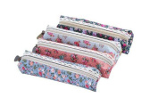 Doitsa Bag Office Supplies Creative Forest Style Elegant Little Floral Pen Bags Cosmetic Bag Students Stationery Bag (4 pcs)