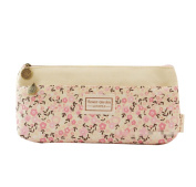Doitsa Bag Office Supplies Creative Pastoral Fresh Small Floral Pen bags Cosmetic Bag Students Stationery Bag