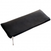 Doitsa Bag Office Supplies Concise Solid Colour PU Leather Pencil Bag