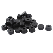 Unique Bargains 30pcs 26mm x 13mm Furniture Table Couch Chair Leg Tip Foot Holder Protective Pad