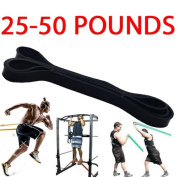 2.2CM RESISTANCE EXERCISE HEAVY DUTY BANDS TUBE HOME GYM FITNESS NATURAL LATEX
