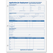 Tops 32851 Application for Employment 8-1/2 x 11 Two 50-Form Pads Pack