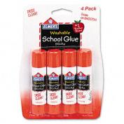 Elmers E542 Washable School Glue Sticks . 710ml Repositionable Stick Four Pack