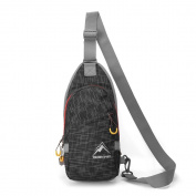 Shoulder Backpack, MALEDEN Waterproof Outdoor Sports Crossbody Sling Chest Bag with Casual Lightweight Style for Men and Women