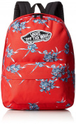 Vans Realm Backpack Rucksack, 42 cm, 22 L, Tomato Hawaiian
