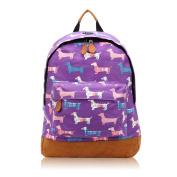 SALE - Childrens Designer Style Canvas Print Backpack Bag - JC Kids 'Back to School' Collection