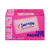 Sweet'N Low Zero Calorie Sweetener - 1500 CT