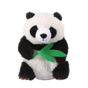 Yoego Cute Mimicry Pet Talking Panda Repeats What You Say Plush Animal Toy Electronic Panda Panda for Children/Toy Gifts Birthday Gifts Christmas Gift,10cm x 18cm