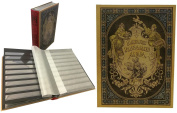 Stamp Collector's Album with 60 Black Refill Sheets Heritage Design III
