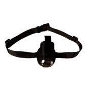 Firelong Referee Foam Spray Waist Holster Made from Polyester Material with Elastic Belt - Black