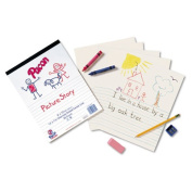 Pacon Multi-programme Ruled Picture Story Paper
