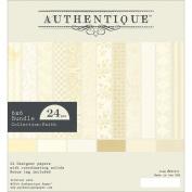 Authentique Double-Sided Cardstock Pad 15cm x 15cm 24/Pkg-Faith, 12 Designs/2 Each