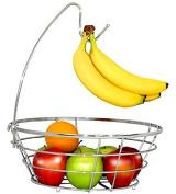 WANG-shunlidaCreative shuiguolan stainless steel kitchen hook wire basket rack