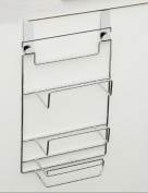 Anna Kitchen Shelves Cabinet Door Back Free Nail Hook Up Behind The Door Storage Rack Creative Kitchen Supplies Shelf
