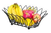 WANG-shunlidaStainless steel fruit basket with basket placement basket