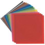 Yasutomo - Origami Paper Stacks - 10cm x 10cm - Assorted Colours, 500/Pkg.