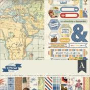 Authentique Collection Kit, 30cm x 30cm , Explore