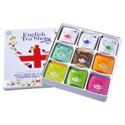 English Tea Shop Diamond Jubilee Assorted Fairtrade and Organic Tea Bags Gift Tin