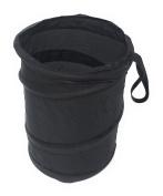 Mini Pop Up Car Bin Black Storage Rubbish Dustbin Foldable Travel Waste Basket
