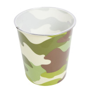 Kids Army Camo Camouflage Kids Bedroom Waste Bin Ideal Gift For Little soldiers