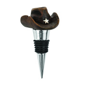 Foster & Rye 3407 8.9cm Rodeo Cowboy Hat Stopper, Wood Brown