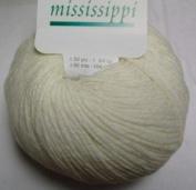 Katia Mississippi cotton/acrylic yarn, 50g - ecru