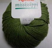 Katia Mississippi cotton/acrylic yarn, 50g - khaki green